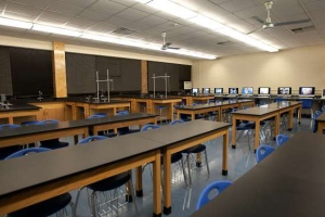 Science Lab at Valley Middle School