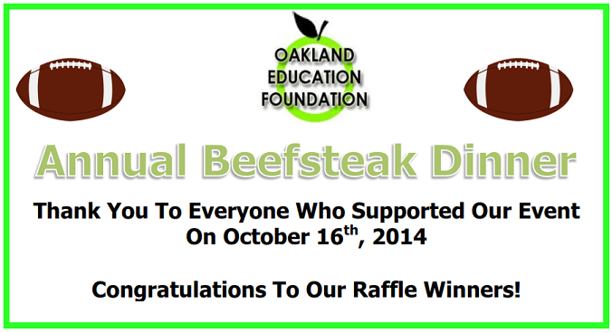 2014 OEF Beefsteak