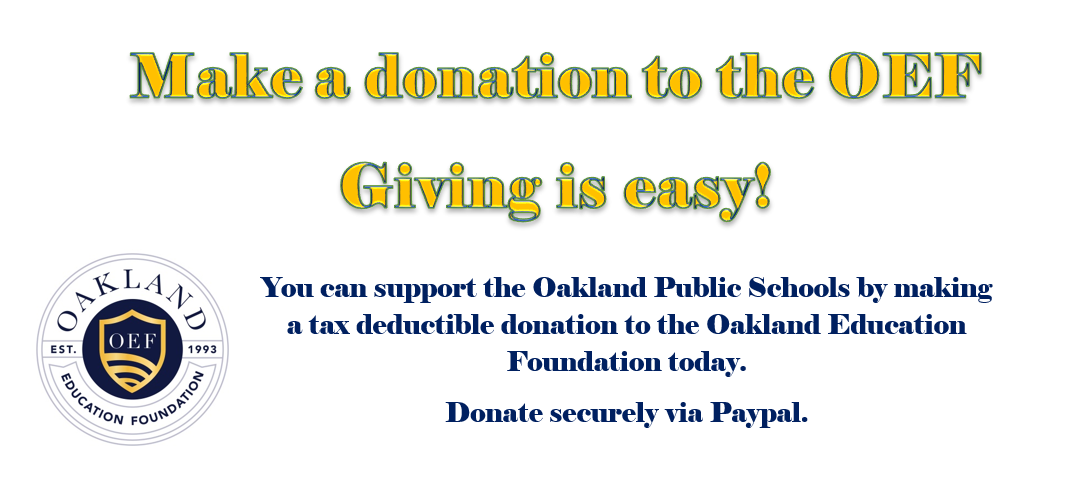 Make a Donation to the OEF